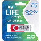 USB Flash 32Gb Life Tokyo красная