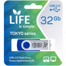 USB Flash 32Gb Life Tokyo синяя