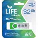 USB Flash 32Gb Life Tokyo зеленая