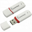 USB Flash 4Gb Smart Buy Crown белая
