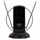 Комнатная антенна GAL AR-468AW черная