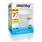 Светодиодная Лампа Smartbuy Gu5,3 7Вт теплый свет