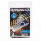 USB Flash 4Gb Exployd 530 синяя