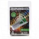 USB Flash 4Gb Exployd 530 зеленая