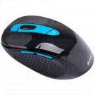 Мышь беспроводная A4Tech G11-570HX-3 черно-синяя с зарядкой