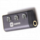 Bluetooth адаптер для наушников HARPER HB-603 серый