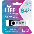 USB Flash 64Gb Life Tokyo черная