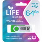 USB Flash 64Gb Life Tokyo зеленая