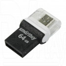 USB Flash 64Gb Smart Buy Poko OTG черная