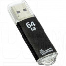 USB Flash 64Gb Smart Buy V-Cut черная 3.0