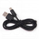 Кабель USB A - USB Type-C (1 м) OLTO ACCZ-7015 черный