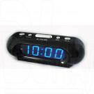 VST 716-5 часы настольные с ярко-синими цифрами