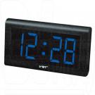 VST 780-5 часы настенные с ярко-синими цифрами