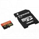 microSD 8Gb Transcend Class 10 Ultimate UHS-I с адаптером