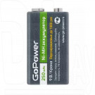 аккумулятор GoPower Крона 6F22 BL1