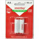 Аккумуляторы Smartbuy HR6 2300mAh NiMH BL2 AAв упаковке 2 шт