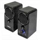 Dialog Stride AST-22UP акустика 2.0 черная