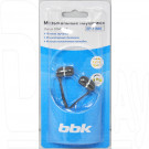 Наушники BBK ЕР-1190S черные