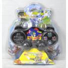Беспроводной геймпад для PlayStation 2 черный