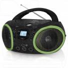 Магнитола BBK BX150BT черно-зеленая (Bluetooth)