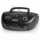 Магнитола BBK BX318BT черная (Bluetooth)