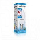 Светодиодная Лампа Smartbuy C37 Е14 12Вт холодный свет