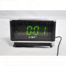 VST 721-2 часы настольные с зелеными цифрами