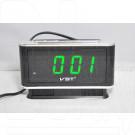 VST 721-4 часы настольные с ярко-зелеными цифрами