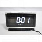 VST 721-6 часы настольные с белыми цифрами
