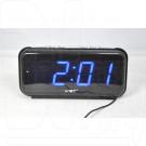 VST 806-5 часы настольные с ярко-синими цифрами