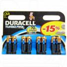 Duracell Turbomax LR6 AA BP8 упаковка 8шт