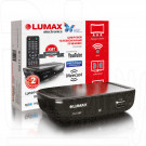 Цифровой ресивер LUMAX 1110HD + кабель 3RCA, WI-FI и Кинозал