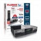 Цифровой ресивер LUMAX 3211HD DVB-T2/C с дисплеем, WI-FI и MeeCast