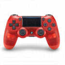 Джойстик DualShock 4 crystal red v.2