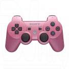Джойстик PS3 розовый