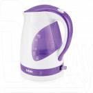 Электрический чайник BBK EK1700P белый/фиолетовый