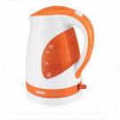 Электрический чайник BBK EK1700P белый/оранжевый