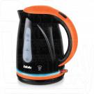 Электрический чайник BBK EK1701P черный/оранжевый