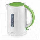 Электрический чайник BBK EK1703P белый/зеленый