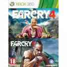 Far Cry 3 + Far Cry 4 (русская версия) (XBOX 360)