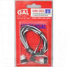 Гарнитура GAL HM-002 бело-черная