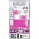 Наушники GAL M-005P-F розовые