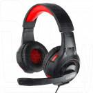 Gembird MHS-G210 гарнитура игровая черно-красная