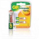 Аккумуляторы GP HR03 650mAh NiMH BL2 AAA в упаковке 2 шт
