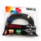 Кабель HDMI - HDMI PRO 5 м Dialog в пакете