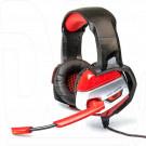 Dialog Gan-Kata HGK-37L гарнитура игровая черно-красная с подсветкой