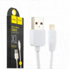 Кабель USB A - iPhone 5 (1 м) Hoco. X1