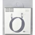 Кабель USB A - iPhone 5 (1,2 м) Hoco. U27 металлический