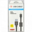 Кабель USB A - iPhone 5 (1,5 м) MLD черный