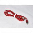 Кабель USB A - Lightning (1 м) Fumiko MC1 магнитный в пакете